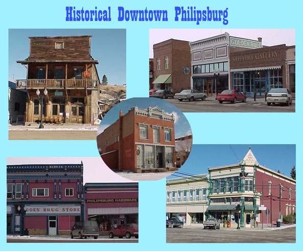 Historic Downtown Philipsburg Montana