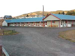 Southwestern Montana's Motel, The Inn at Philipsburg Rooms in the summer